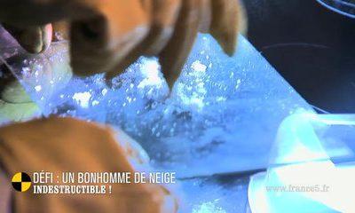 BONHOMME DE NEIGE GÉANT
