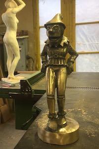 lutin en bronze